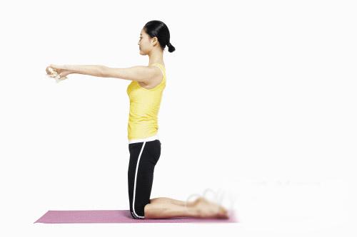 第二类瘦腿瑜伽可以锻炼长腿(照片)