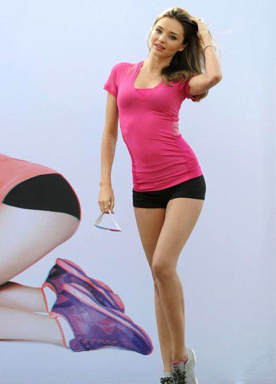 米兰达可儿瘦身7大秘诀 变身唯美天使图片
