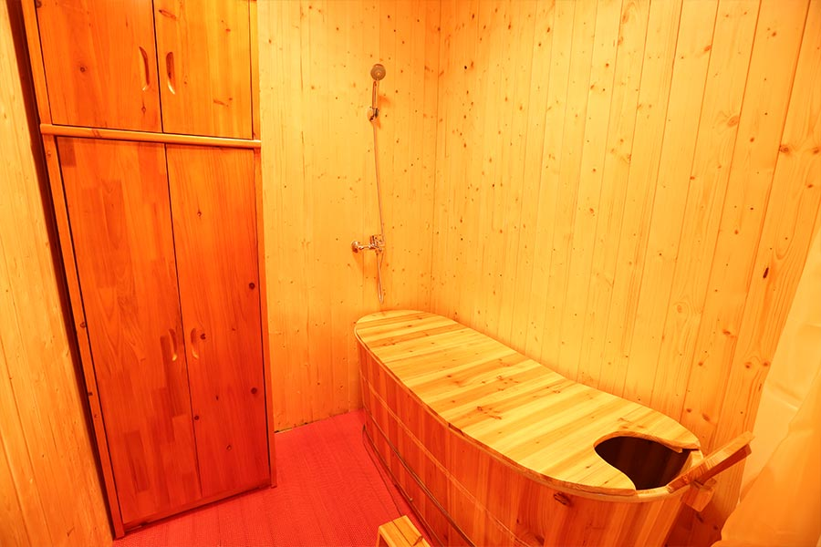 中药浴熏室