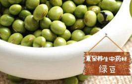 夏至养生中药材:绿豆
