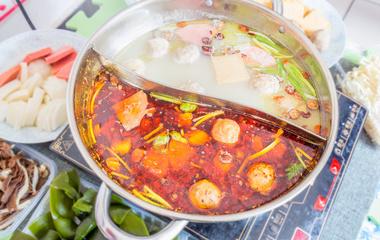 绿豆月饼的做法步骤7:准备煮鱼汤