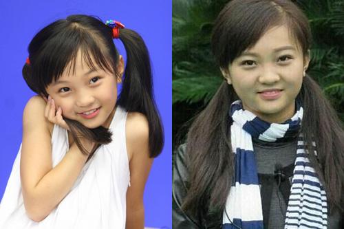 林妙可长大变残 为什么童星长大后不再美貌?图片