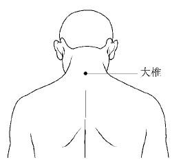 大椎血是人体哪个位置_大椎