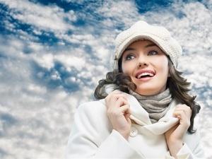 冬日常穿高领衣服防颈椎病