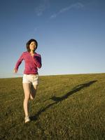 舒适的跑步服和喜欢的app
