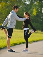 跑步前后多做伸展运动
