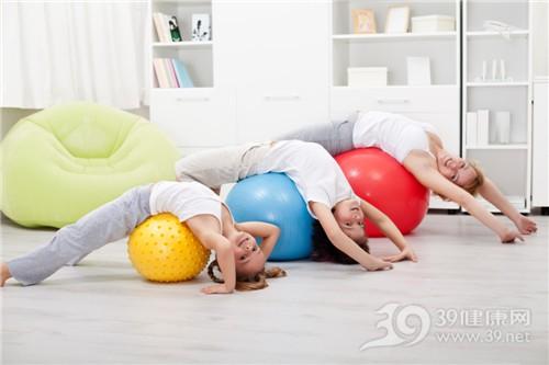 青年孩子女運動健身瑜伽親子_ 17921451_xxl