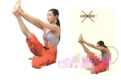 八个瘦腿瑜伽动作创造迷人的长腿(照片)