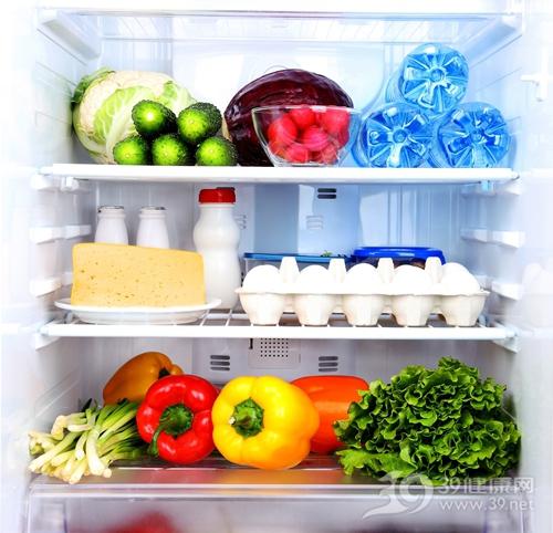 冰箱 食物 蔬菜 蛋糕 鸡蛋 青椒_18316788_xxl