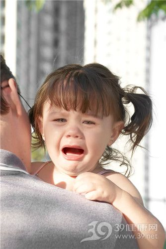 孩子 女 父亲 哭_10047414_xl
