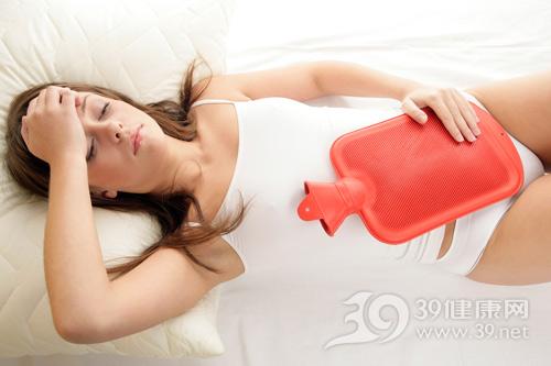 女性痛经-暖水袋