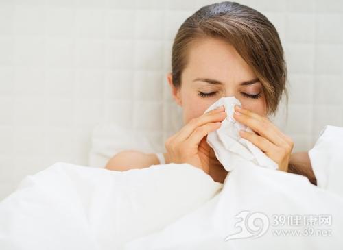 青年 女 生病 感冒 鼻炎 过敏 纸巾_17539062_xxl