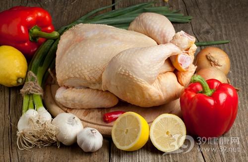 鸡 生鲜鸡 鸡肉 光鸡 柠檬 青椒 大蒜_9759885_xxl
