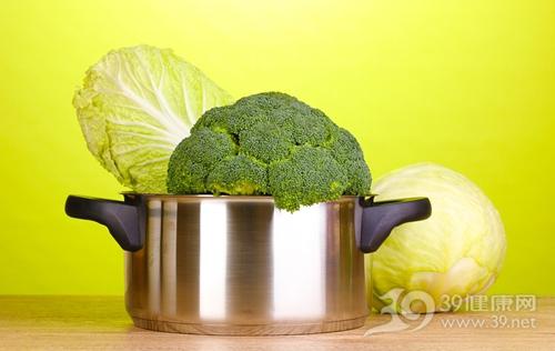 蔬菜 西兰花 白菜 锅 煮食 烹饪_12431175_xxl