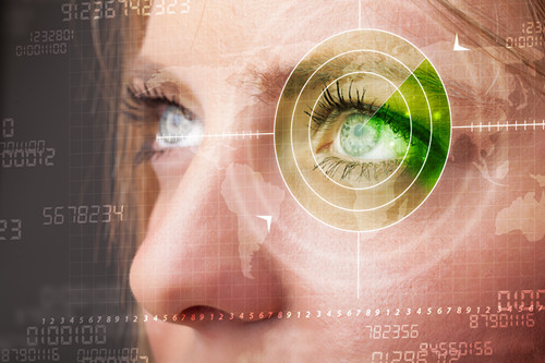 女性 眼睛 视力