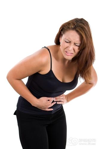 青年 女 生病 腹部 肚子痛 腹痛 疼痛_5594641_xxl