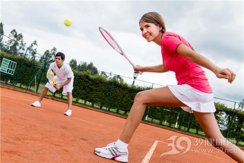 青年 男 女 运动 网球_19496894_xxl