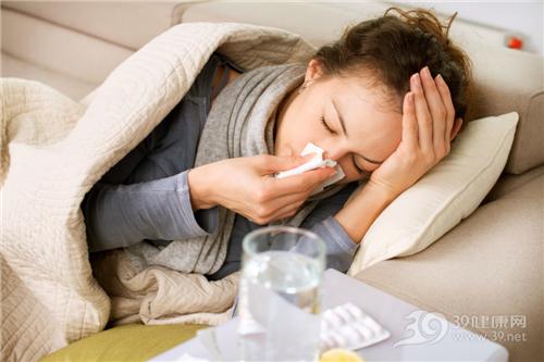 头疼发烧可爱图片