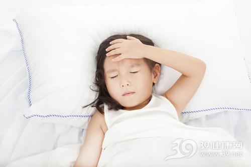 孩子 女 生病 发烧 感冒 卧床_21707244_xxl