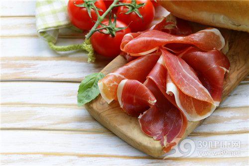 肉类 火腿 生肉 肉片 西红柿 面包三明治_ 28234445_xxl