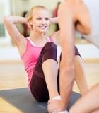 瑜伽招式瘦出纤细美腿
