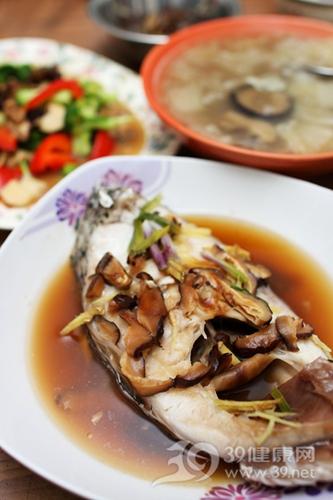 海鲜 鱼 蒸鱼 鱼肉 冬菇 蘑菇_5772093_xl