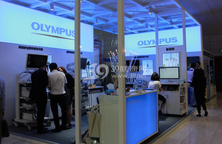 消化内镜厂商展示最新的内镜治疗设备