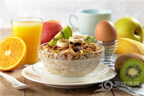 早餐 五谷 粗粮 谷物 香蕉 猕猴桃 橙子 橙汁 鸡蛋 苹果_11141018_xxl