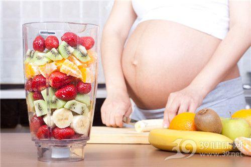 孕妇 怀孕 水果 香蕉 草莓 奇异果 橙子 苹果 榨汁_ 16161513_xl