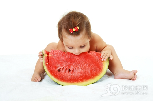 孩子 婴儿 女 西瓜 水果_16012467_xxl
