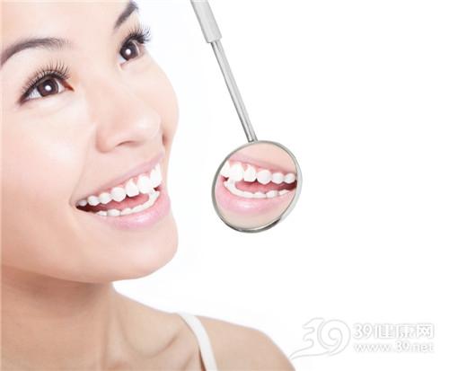 青年 女 牙齿 口镜 笑容 牙齿美白_13260570_xxl