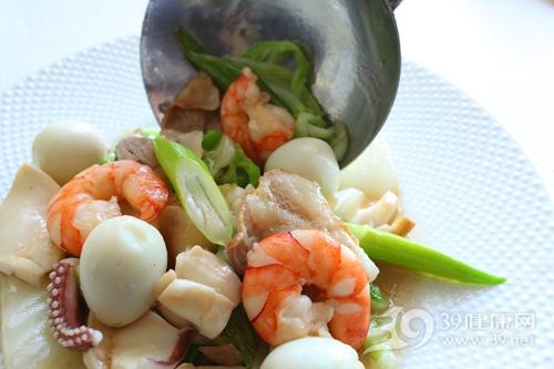 烹饪 炒菜 煮食 虾 鱿鱼 鹌鹑蛋_19970240_xxl