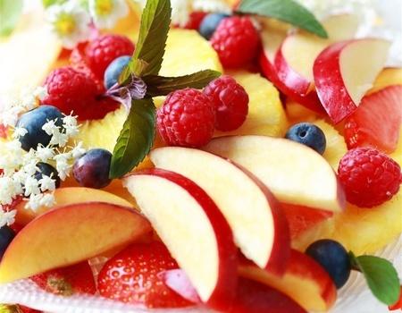 水果-沙拉-苹果