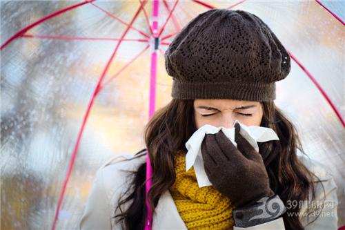 青年 女 感冒 寒冷 冬天_31020045_xxl