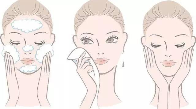 洗脸步骤动画图
