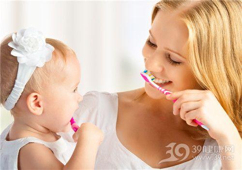 母亲 孩子 亲子 刷牙 教导_22811365_xxl