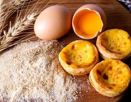 鸡蛋-蛋挞-麦子