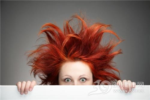 青年 女 头发 毛躁 蓬松_11889934_xxl