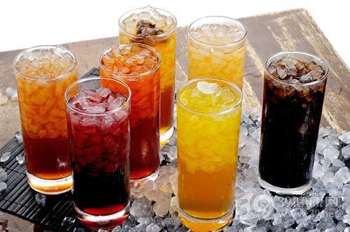 可乐 汽水 饮料 橙汁 果汁 冰_11532054_xxl