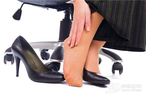 高跟鞋 脚踝 丝袜 疼痛 商务_26421119_xxl