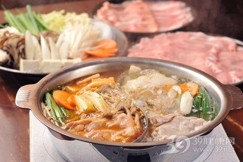 火锅 蔬菜 胡萝卜 豆腐 肉类 生肉_ 23563930_xxl