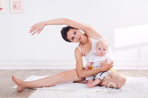 青年 女 孩子 母亲 亲子 瑜伽 运动_20054408_xxl