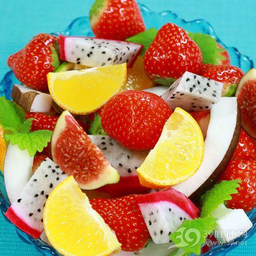 沙拉-水果-橙子-草莓-火龙果_4830353_xxl