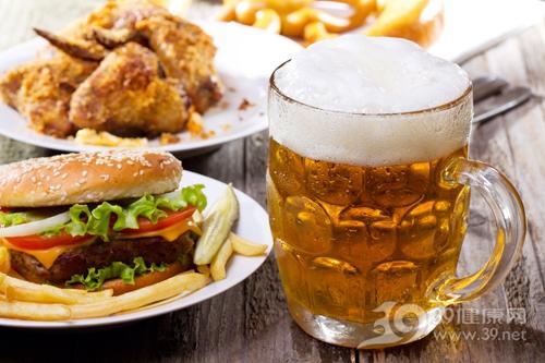 啤酒 汉堡 炸鸡 快餐_12449799_xxl