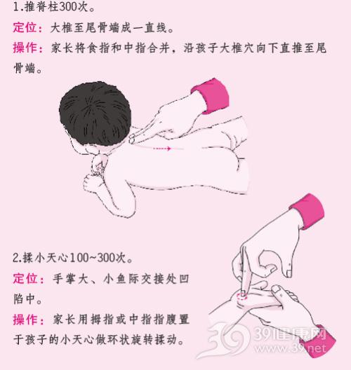 孩子感冒了 按这几个穴位可帮助恢复