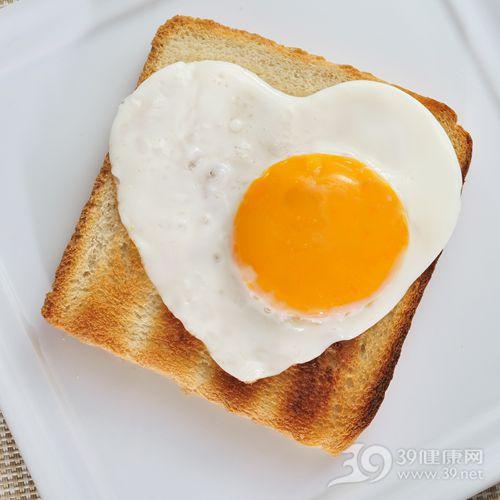 鸡蛋 煎蛋 荷包蛋 早餐 蛋黄 面包_13545658_xl
