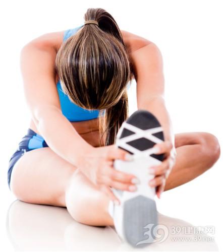 青年 女 运动 拉筋 热身 健身_14337276_xxl