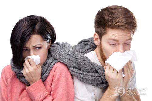 青年 男 女 感冒 生病 纸巾 围巾 情侣 夫妻_14649768_xxl