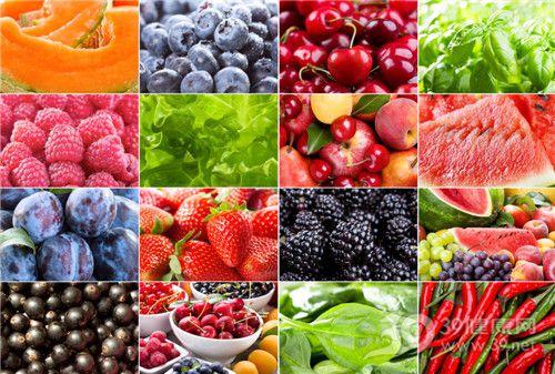 水果 哈密瓜 蓝莓 樱桃 红莓 生菜 苹果 西瓜 草莓 辣椒 布林 黑莓_14872280_xxl