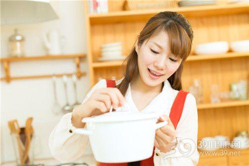 青年 女 煲 烹飪 廚房_17218977_xxl